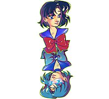 By Day, By Night - Sailor Mercury Photographic Print
