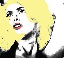 Lady Gaga Digital Art by GGgraphicdesign