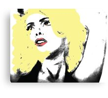 Lady Gaga Digital Art Canvas Print