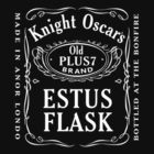 Estus Flask Bottle Label Design by sunlightphaggot