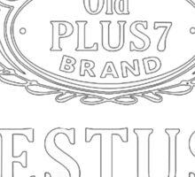 Estus Flask Bottle Label Design Sticker