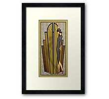 Atlantean Gold Framed Print
