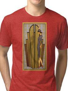 Atlantean Gold Tri-blend T-Shirt