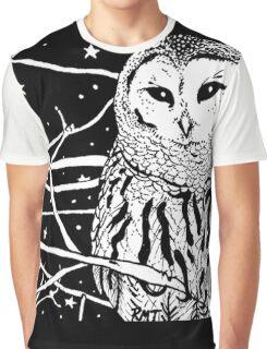 Snowy Night Graphic T-Shirt