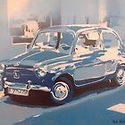 Fiat 500 by Bob Hickman