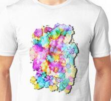Colorama - Original Mixed Media by Mark Compton Unisex T-Shirt
