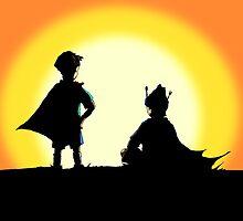 Super Best Friends by LVBART