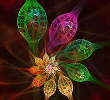 Glass Petals by Pam Amos