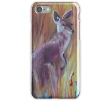 Kangaroos in Long Grass iPhone Case/Skin