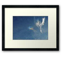 Angels Above Us Framed Print