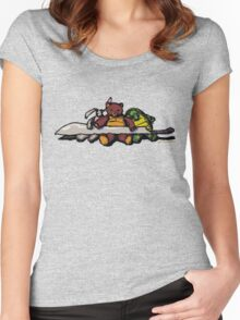 Bromista's toys Women's Fitted Scoop T-Shirt