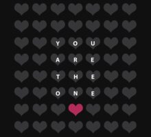 You are the one - valentine's day Kids Clothes