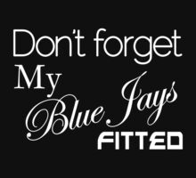 Blue Jays Fitted (BFJ1002DRK) by Wordplay Unltd.