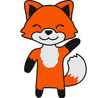 Cute Little Fox Child by Style-O-Mat