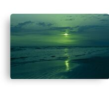 To Green To Be Blue Canvas Print