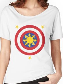 Captain Philippines! Women's Relaxed Fit T-Shirt