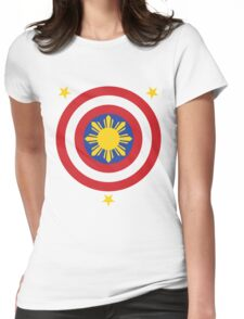 Captain Philippines! Womens Fitted T-Shirt
