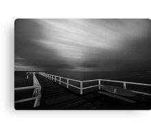Incoming... Canvas Print