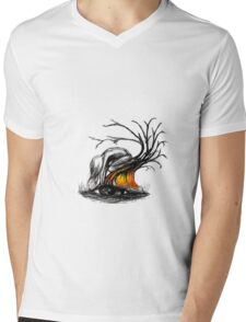 Gimmie back my earth. Mens V-Neck T-Shirt