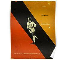 Beckenbauer Poster