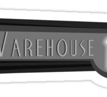 Art Deco Warehouse 13 Logo Sticker