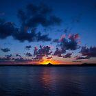 Noosa Spit Sunset by Sam Frysteen