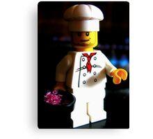 lego chef Canvas Print