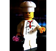 lego chef Photographic Print
