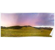 Before the Storm - Panorama Poster