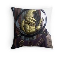 The Punch Tavern Throw Pillow