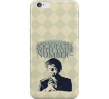 High-Functioning Sociopath. iPhone Case/Skin