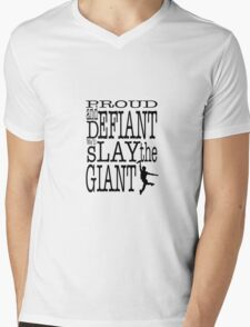 Newsies: Slay the Giant Mens V-Neck T-Shirt