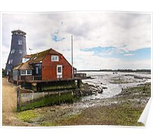 The Old Mill at Langstone Harbour  Poster
