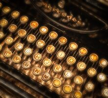 Old typewriter by Dobromir Dobrinov