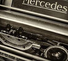 Old typewriter by Dobromir Dobrinov