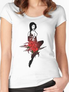Allure3 Women's Fitted Scoop T-Shirt