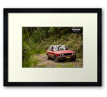 BMW in the wild. Framed Print