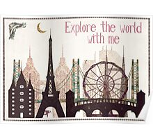explore the world with me Poster