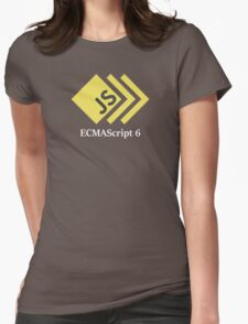 ECMAScript 6 (ES 6) Javascript T-shirt & Hoodie Womens Fitted T-Shirt