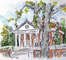 University of Virginia Rotunda by Robert Holewinski