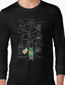Plankton's Plan Z Long Sleeve T-Shirt