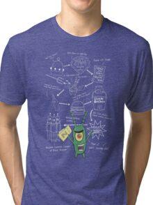 Plankton's Plan Z Tri-blend T-Shirt