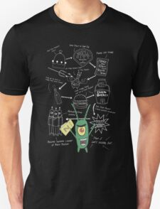 Plankton's Plan Z Unisex T-Shirt