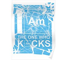 I AM THE ONE WHO KNOCKS! Poster