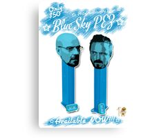 Blue Sky Pez! Canvas Print