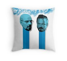 Blue Sky Pez! Throw Pillow