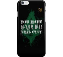 You have failed this city! iPhone Case/Skin