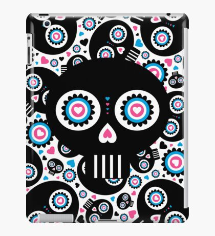 Mexican 'Day of the Dead' Skull Pattern iPad Case/Skin