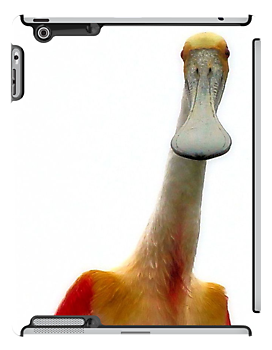 I Am Not A Duck iPad Case by SuddenJim