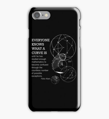 Math Quote iPhone Case/Skin